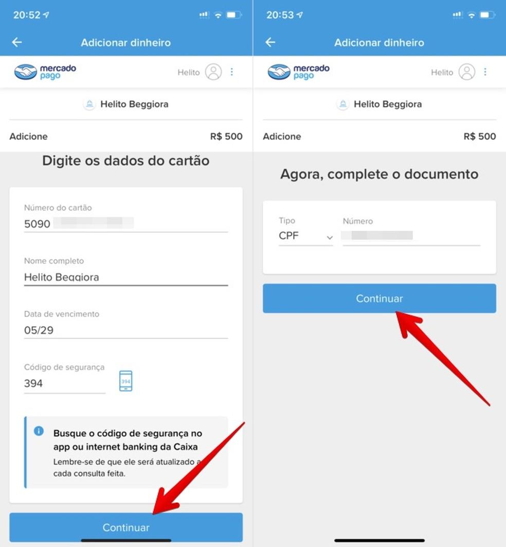 Transferir dinheiro do Caixa Tem para Mercado Pago é um processo simples — Foto: Reprodução/Helito Beggiora
